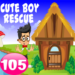 Cute Boy Rescue Game 105