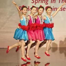Spring in the city by Koh Chip Whye - People Musicians & Entertainers (  )
