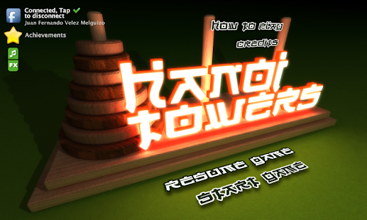The Hanoi Towers - screenshot