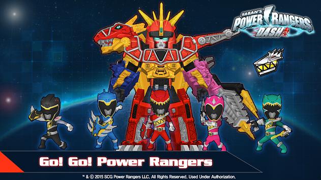 Power Rangers Dash apk screenshot