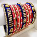 App Silk Thread Bangles For Women 2017 apk for kindle fire