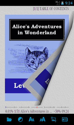 AlReader -any text book reader screenshot 1