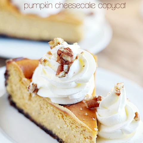 Cheesecake Factory Pumpkin Cheesecake Copycat