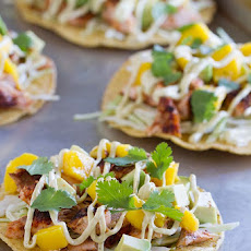 Blackened Salmon Tostadas
