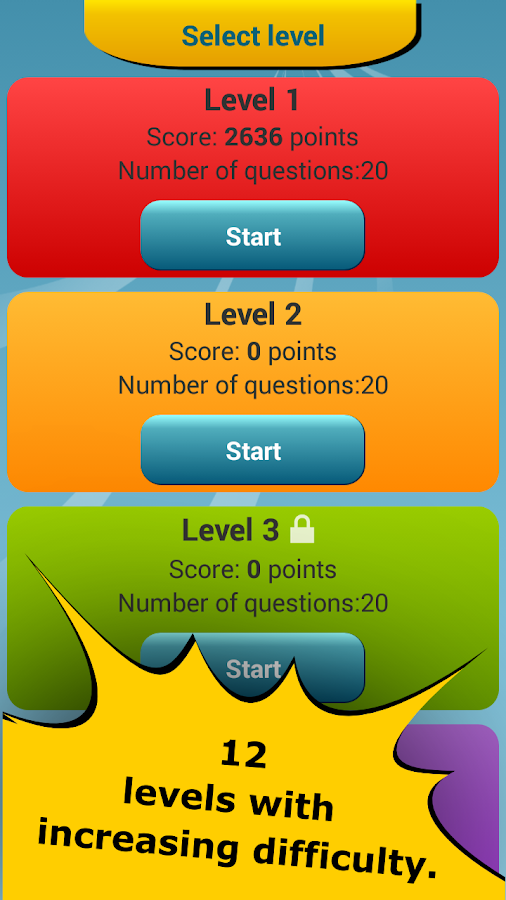 Math Challenge - Brain Workout Screenshot 4