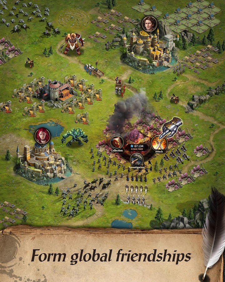 Clash of Queens:Dragons Rise Screenshot 10
