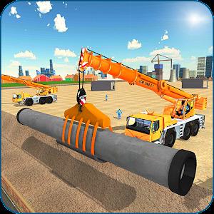 City Pipeline Construction: Plumber work on PC (Windows / MAC)