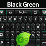 GO Keyboard Black Green Icon