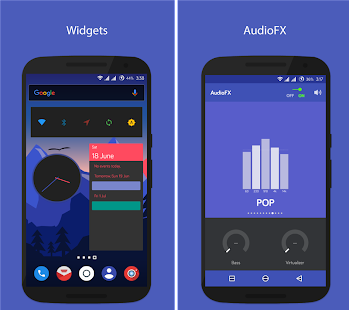Pinwheel CM13/12x Theme- screenshot thumbnail