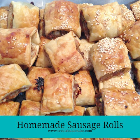 Party Food – Homemade Sausage Rolls