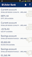 Screenshot of Ulster Bank ROI
