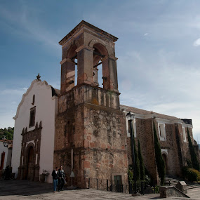 Church at Tapalpa, Mexico by Cristobal Garciaferro Rubio - Buildings & Architecture Places of Worship ( tapalpa, church, mexico, jalisco, plaza )