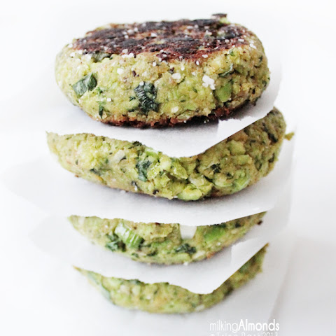 The Ultimate Green Burger w/ Avocado & Mint Dressing