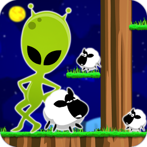 Sheep VS alien