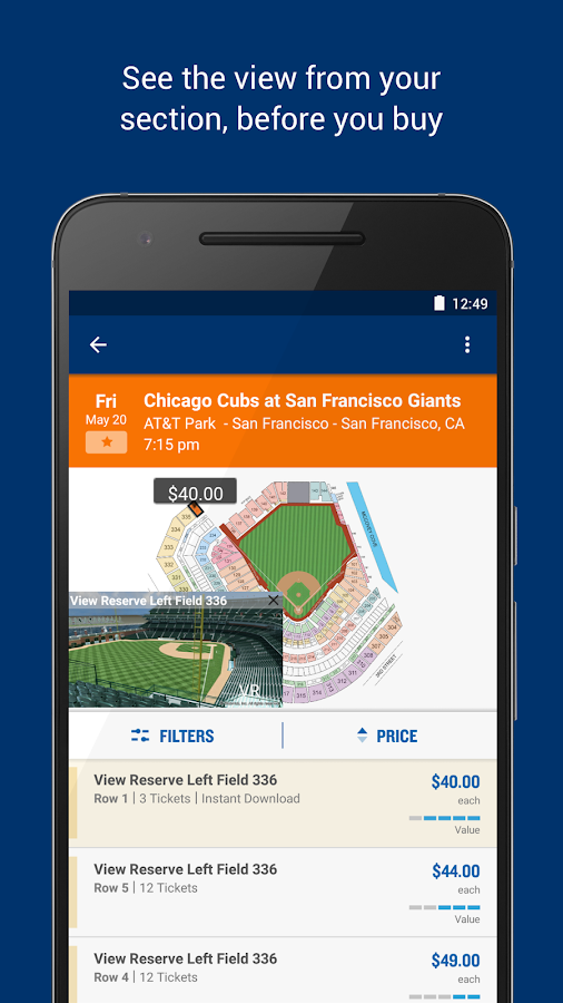 StubHub - Event tickets Screenshot 4