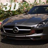 Game SLS AMG Driving Simulator 3D APK for Kindle