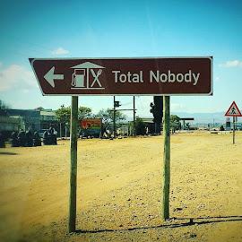 Total nobody by Kobus Kritzinger - City,  Street & Park  Street Scenes ( polokwane iphone5s total )