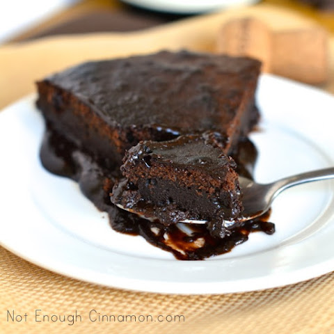 Decadent Ooey Gooey Chocolate Cake