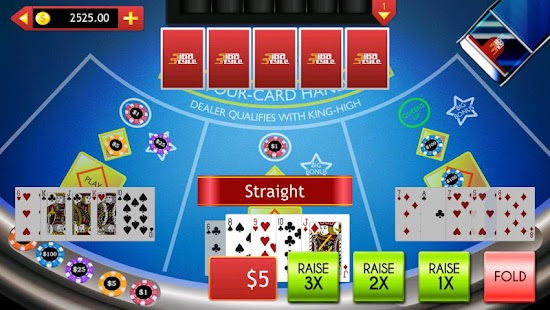 free casino games four card poker