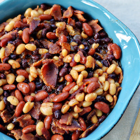 Three Bean with Bacon Bake