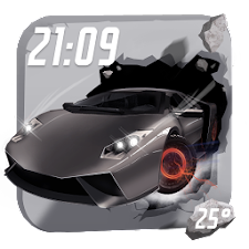 3D Widget for City Car Driving