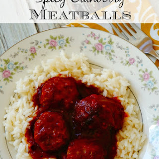 Spicy Cranberry Meatballs Recipe Made Easy with Mama Mancini's
