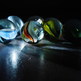 glass marbles 3.11 by Peter Salmon - Artistic Objects Glass