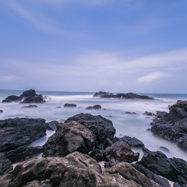 Gentle waves by Indra Setiawan - Landscapes Beaches