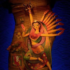 Goddess Durga by Anupam Pal - Public Holidays Other ( goddess durga )