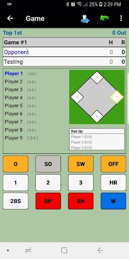 Dartball Statistician screenshot 1