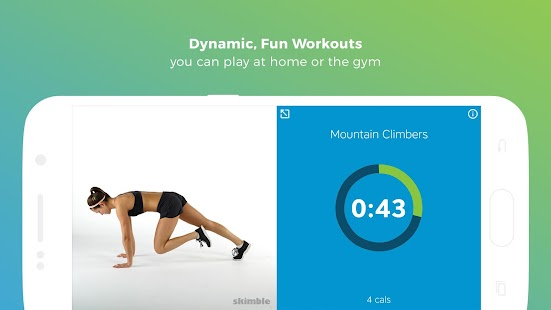тренировки Workout Trainer Screenshot