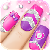 Fashion Nail Art Designs Game APK Icon
