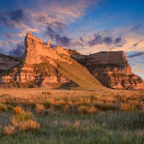 Western Nebraska by Ken Smith - Landscapes Travel ( scotts bluff, landscape, nebraska )