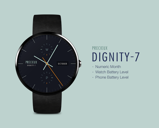 Dignity-7 watchface by Precieu - screenshot