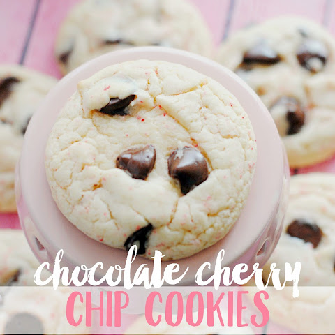 Chocolate Cherry Chip Cookies