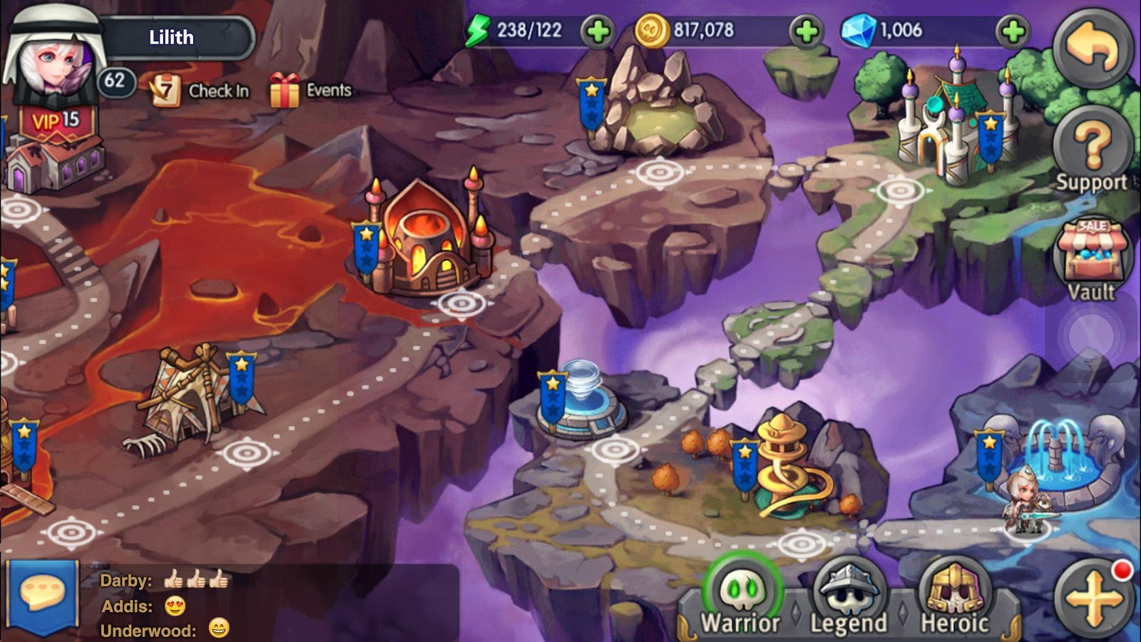 Heroes Tactics: Strategy PvP Screenshot 17