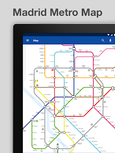 Madrid Metro Map and Route Planner - Android Apps on Google Play
