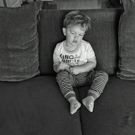 Little James Dean by Gary Ambessi - Babies & Children Child Portraits