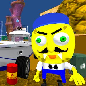Sponge Neighbor Escape 3D For PC / Windows 7/8/10 / Mac – Free Download