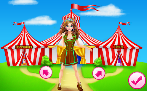 Girls Circus Dresses - screenshot