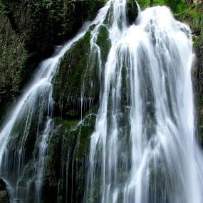 Kaboodvall Waterfall by Hamed Ghalandar - Landscapes Waterscapes ( aliabad, iran, golestan province, kaboodvall waterfall )