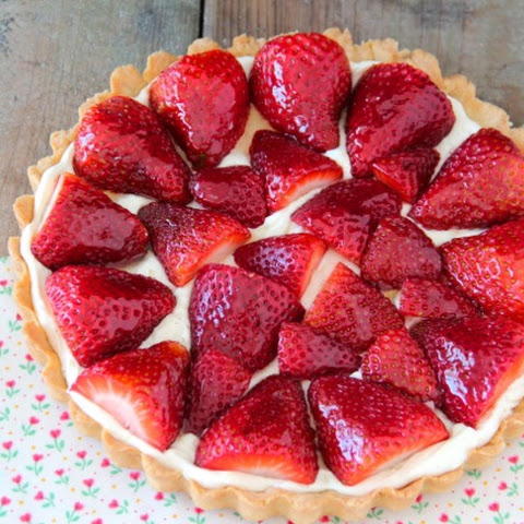 Strawberry & Honey Tart