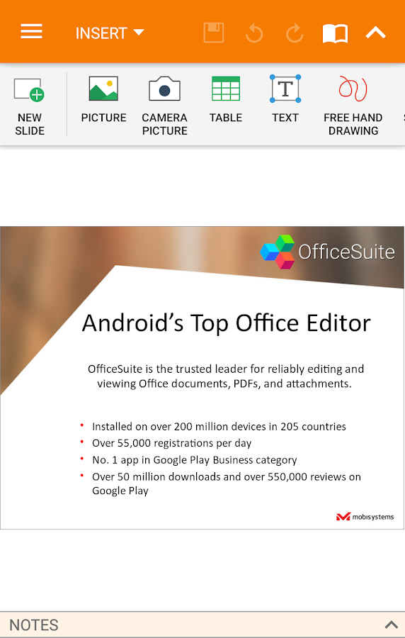 OfficeSuite Pro + PDF Screenshot 4
