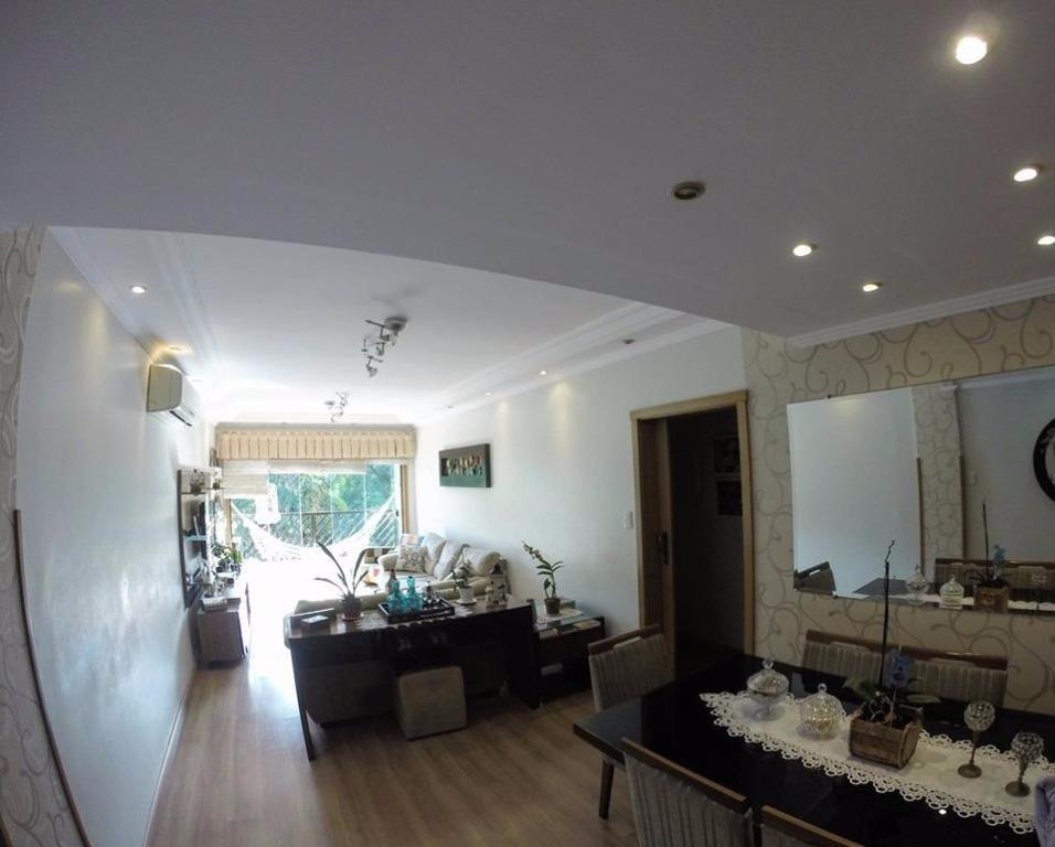 Apartamento com 3 dormitórios à venda, 150 m² por R$ 419.000,00 - Centro - São Vicente/SP