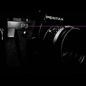 Daddy's Old Pentax :) by Klaudio Hosang - Artistic Objects Antiques ( canon, p3, a2300, camera, pentax )