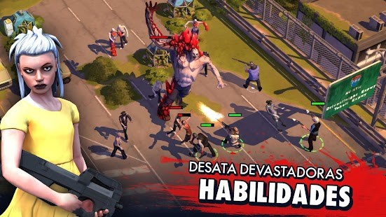 Zombie Anarchy : ¡Sobrevive! Screenshot