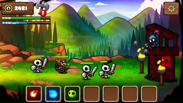 Archer Defense-Magic Castle apk screenshot