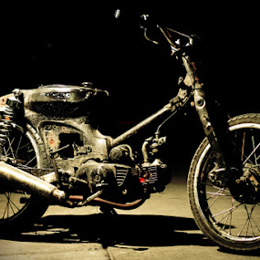 Alone in the Dark by Dimas N - Transportation Motorcycles