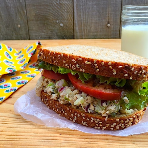 "Tuna ""Superfood"" Salad Sandwich"