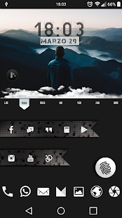 Infinity for kustom 2.0 - screenshot
